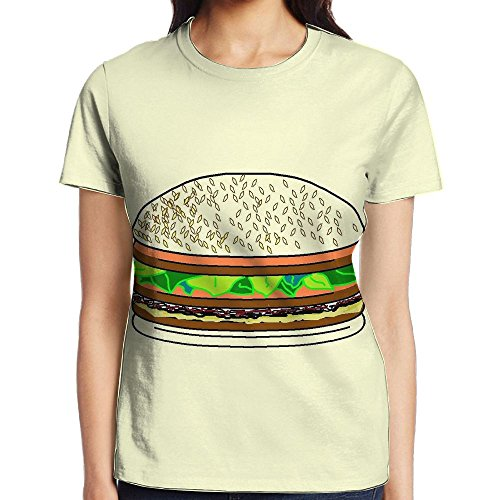 Ltted Womens Quarter POUNDERS Printed Pullover Casual Tees T-Shirt