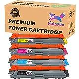 HaloFox Toner Cartridges Replacement TN221 TN-221 TN225 TN-225 Compatible For Brother HL-3140CW HL-3150CDW HL-3180CDW HL-3170CDW MFC-9130CW MFC-9340CDW DCP-9020CDW MFC-9330CDW MFC-9140CDN -B/C/M/Y