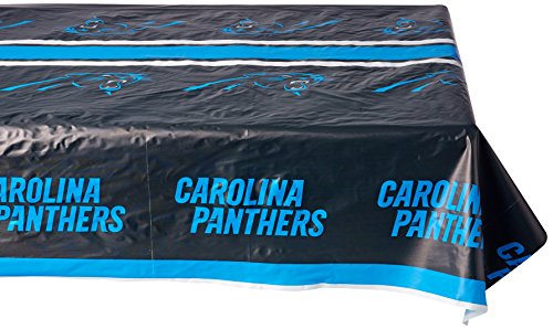 Rico Industries NFL Carolina Panthers 8-Foot Table Cover