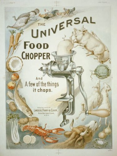 Photo Reprint The universal food chopper