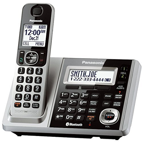 Panasonic KX-TGF370S DECT 6.0 1-Handset Landline Telephone (Certified Refurbished)