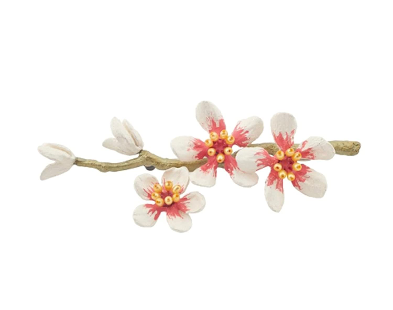 """""""Almond Blossom"""" Pin/ Brooch by Michael Michaud for Silver Seasons…"""