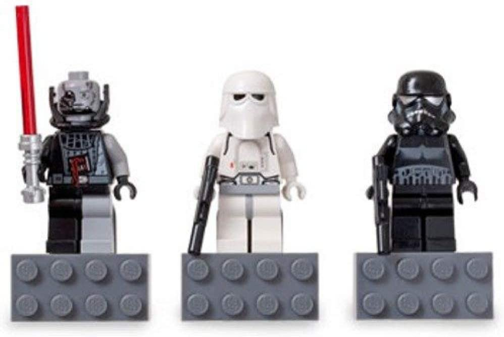 LEGO Star Wars 2010 Exclusive Magnets Set #4560062 Darth Vader, Snowtrooper, Shadow Trooper