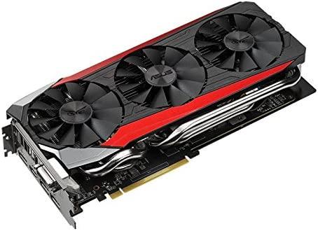 ASUS STRIX-R9390-DC3OC-8GD5-GAMING AMD Radeon R9 390 Tarjeta de video para videojuegos, Overclocked 8 GB DDR5 512-bit Display Port HDMI 1.4a DVI-I