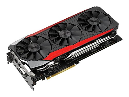 ASUS STRIX Radeon R9 390 Overclocked 8 GB DDR5 512-bit DisplayPort HDMI 1.4a DVI-I Gaming Graphics Card