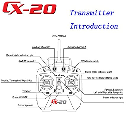 Amazon Cheerson Cx20 Autopathfinder Quadcopter Rtf Gps Fpv. Amazon Cheerson Cx20 Autopathfinder Quadcopter Rtf Gps Fpv Blueskysea Free Gel Pen Toys Games. Wiring. Drone Cx20 Wiring Diagram At Scoala.co