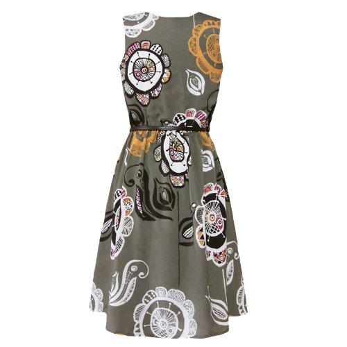 Surkana - Vestido - para mujer Kaki