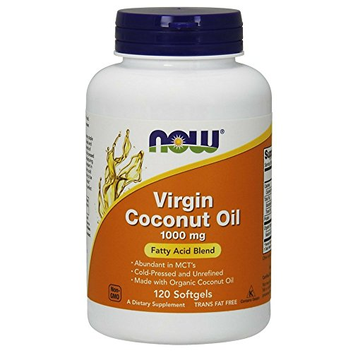 NOW Foods Virgin Coconut Oil 1000mg,