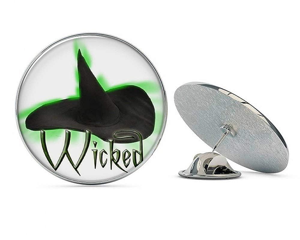 DK Pins Wicked Metal 0.75' Lapel Hat Shirt Pin Tie Tack Pinback