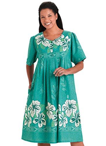 Lovely Border Print Patio Dress
