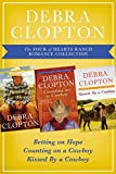 img - for The Four of Hearts Ranch Romance Collection: Betting on Hope, Counting on a Cowboy, and Kissed by a Cowboy (A Four of Hearts Ranch Romance) book / textbook / text book