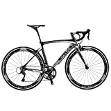 Carbon Road Bike, SAVADECK Windwar5.0 Carbon Fiber Frame 700C Road Bicycle with Shimano 105 22 Speed Groupset Ultra-Light Bicycle