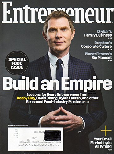 SPECIAL FOOD ISSUE Magazine 2017 Issue LESSONS FOR EVER ENTREPRENEUR FROM BOBBY FLAY, DAVID CHANG, DYLAN LAUREN & OTHER FOOD-INDUSTRY MASTERS Planet Fitness Big - Review Magazine Gq