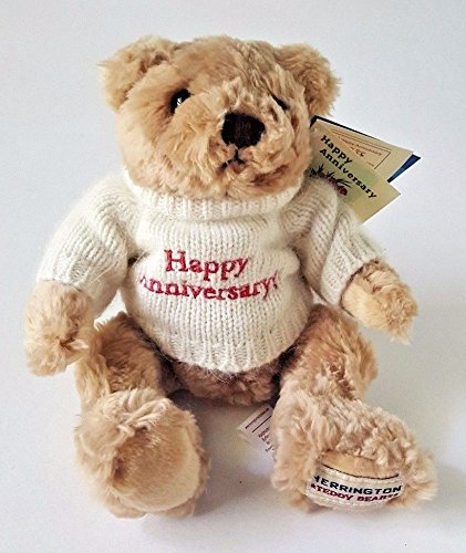 HERRINGTON CELEBRATION COLLECTION LIMITED EDITION HAPPY ANNIVERSARY TEDDY BEAR Celebration Teddy Bear