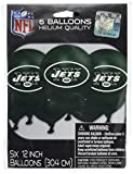 football decoration for party - New York Jets Printed Balloons NFL Football Sports Party Decoration, Latex, 12