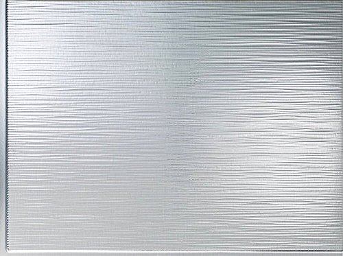 Mirroflex Mojave Backsplash Tiles Decorative Wall Paneling, Brushed Aluminum, 18