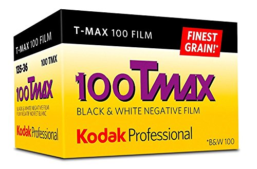 Kodak Professional 100 Tmax Black and White Negative Film (ISO 100) 35mm 36 Exposures 2-Pack