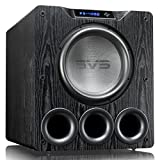 SVS PB-4000 Subwoofer (Black Ash) - 13.5-inch Driver, 1,200-Watts RMS, Ported Cabinet, App Control