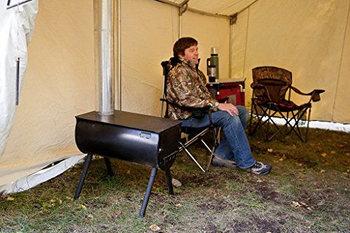 Camp Chef Alpine Cs14 Tent Cabin Cylinder Stove Review