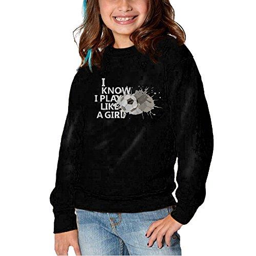 I Play Soccer Sweatshirt - 6