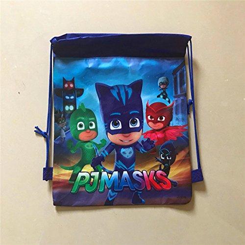 Kindertaschen - Channeltoys - 1pcs Rucksack Kind für Sport - 34 / 27cm - Maskierte Polizisten - Neun