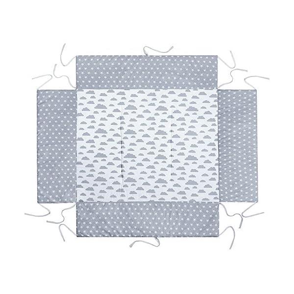 LULANDO Tour de parc pour Bébé avec tapis 75x 100cm 1