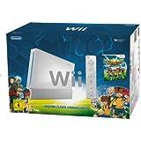 Nintendo Wii - Consola HW + Inazuma Eleven Strikers, Color Blanco
