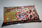 Brown Jasmine Rice With Red Rice By Sunlee 5 Lbs Each Bag