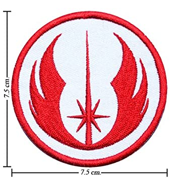 star wars jedi iron on sew applique embroidered emblem ecusson brode patche patches