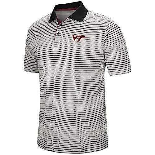(Mens Virginia Tech Hokies Polo Shirt - L)