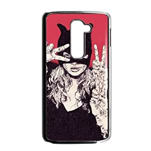 LG G2 Cell Phone Case Black Batsy lady YWU9344243KSL