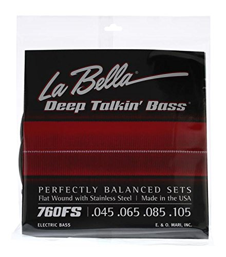 LaBella 760FS Stainless Steel Bass Guitar Strings, ()