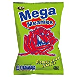 Mega Meanies Pickled Onion Flavoured Crisps (10 x 30g Packets)