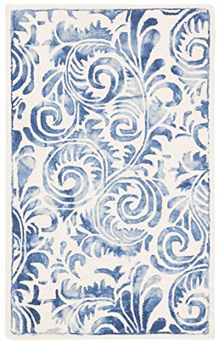 Safavieh DDY212M-3 Area Rug, 3 x 5 , Blue