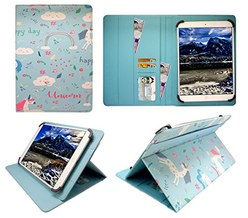 Sweet Tech Trio Stealth G5 10.1 Inch Tablet Sailing Boat Universal Wallet Case Cover Folio (10-11 inch)
