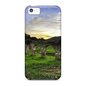 Awesome HuO12122VPHc CaroleSignorile Defender Hard Cases Covers For Iphone 5c- Ancient Bridge Ruins