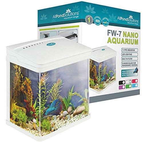 Todos Estanque Soluciones Nano Fish Tank Acuario Luces LED, tamaño ...
