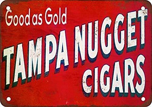 Dozili Metal Tin Sign Tampa Nugget Cigars Funny Signs Bar Pub Decor Retro Decor 8