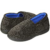 Skysole Kids Boys Marled Soft Terry A-Line Slip-Ons Navy Marled/Cobalt Size 9/10