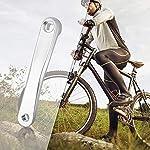 STS-Pedivella-Braccio-Bicicletta-in-Alluminio-forgiato-Colore-Argento-Cromo-170mm-Grigio