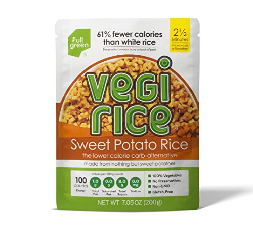 Sweet Potato Vegi Rice - Fullgreen - Low Carb Sweet Potato Veggie Rice (7.05 oz) (1 Count)