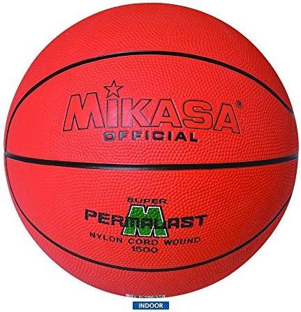 Mikasa Permalast 1500 - Balón de baloncesto (75-78 cm): Amazon.es ...