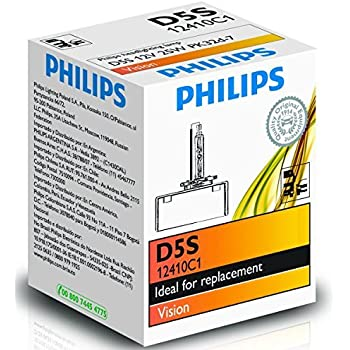 Amazon Com Philips D5sc1 Xenon Hid D5s 1 Pack Automotive
