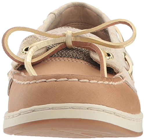 Loafer Angelfish Sperry Linen Eye Oat Gold Top Slip on Women's Sider 2 SnnpxCz