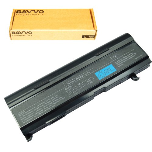 M100 Series Batteries - Bavvo 9-Cell Battery Compatible with Toshiba Satellite A80 A105 M40 M50 M100 Series, PN: PA3399U-1BAS PA3399U-1BRS PA3399U-2BAS PA3399U-2BRS PA3400U-1BAS PA3400U-1BRL