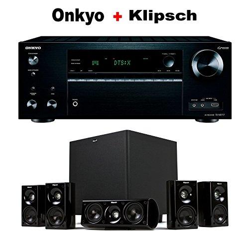 Onkyo-THX-Certified-Audio-Video-Component-Receiver-black-TX-NR777-Klipsch-HDT-600-Home-Theater-System-Bundle