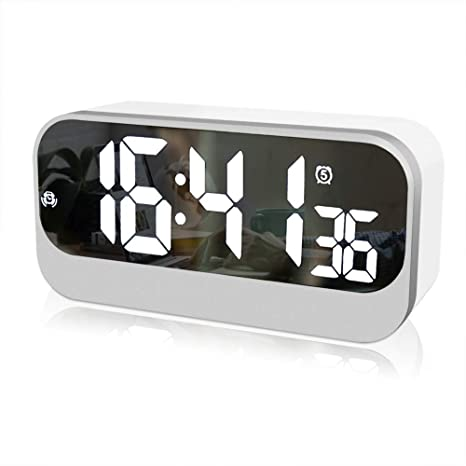 Amazon.com : Da-upup Reloj despertador Digital electrico ...
