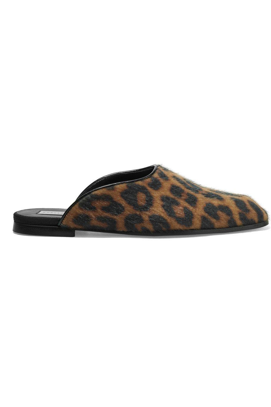 Stella McCartney Leopard Mules 38