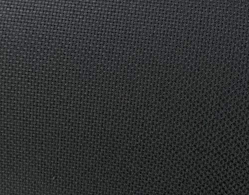 60″ Wide Black Aida Cloth Cross Stitch by The Yard