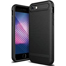Caseology Wavelength Series iPhone 7 / 8 Cover Case with Pattern Slim Protective for Apple iPhone 7 (2016) / iPhone 8 (2017) - Matte Black